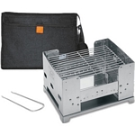 Esbit Stainless Steel Foldable BBQ (Esbit BBQ300S)