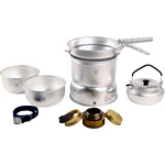 Trangia 27 Series Ultralight Aluminium Cookset and Kettle with Spirit Burner (Trangia 27-2)