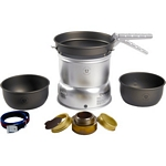 Trangia 27 Series Ultralight Hard Anodized Aluminium Cookset with Spirit Burner (Trangia 27-7)