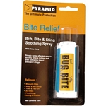 Pyramid Bug Bite Relief Spray and Antiseptic Wipes (30 ml) (Pyramid)