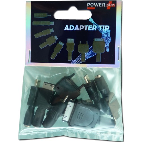 PowerPlus Adaptor Tips for iPhone, Mobile, Mini USB & Female USB (PowerPlus Adapter Tips)