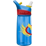 Contigo Autospout Striker Bolt Kids Water Bottle (Blue) (Contigo 1000-0099)