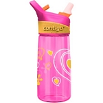 Contigo Autospout Striker Love Kids Water Bottle (Pink) (Contigo 1000-0101)