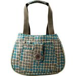 Insulated Shoulder Bag - Terrilynn (Aqua) (Koko)