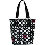 Insulated Hand Bag - Ginger (Hot Pink Rings) (Koko)