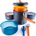 GSI Outdoors Pinnacle Dualist Ultralight Backpacking Cookset (GSI 50144)