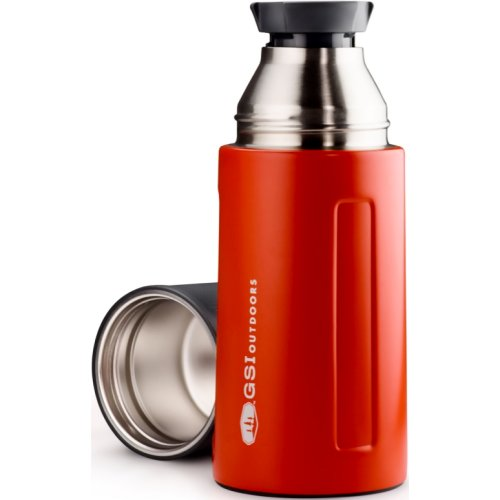 GSI Outdoors Glacier Stainless Vacuum Bottle - Red (500 ml) (GSI 67451)