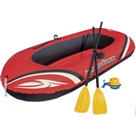 Bestway Hydro-Force Raft Set with Pump and Oars (185 x 99 cm) (Bestway 61062)