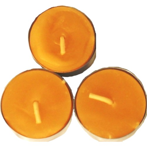UCO A-CAN6PK-B - UCO Beeswax Tealight Candles for Mini &