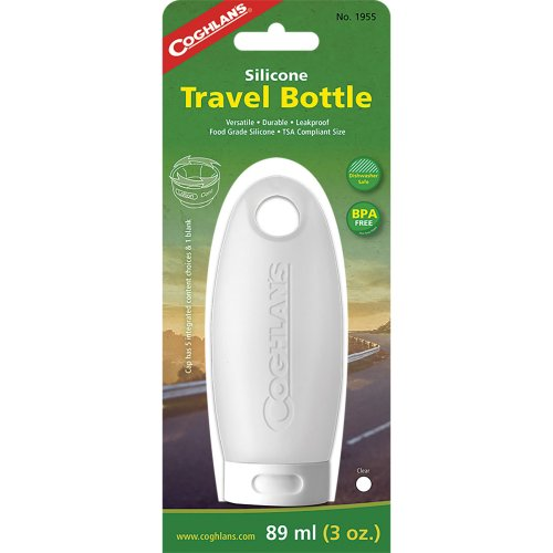 Coghlan's Silicone Travel Bottle - 89 ml (Clear) (Coghlan's 1955)