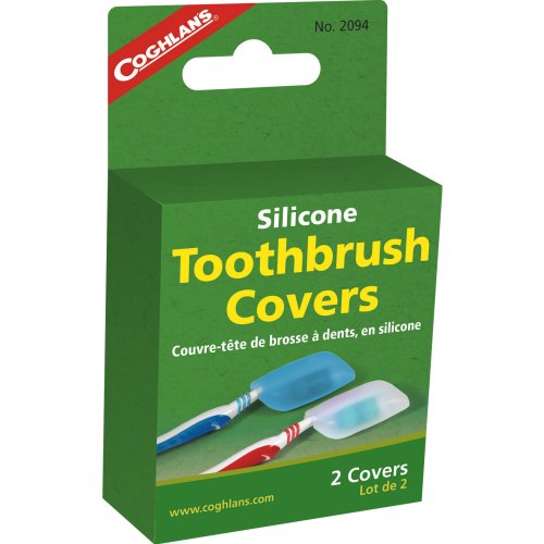 Coglan's Silicone Toothbrush Covers - Pack of 2 (Coghlan's 2094)