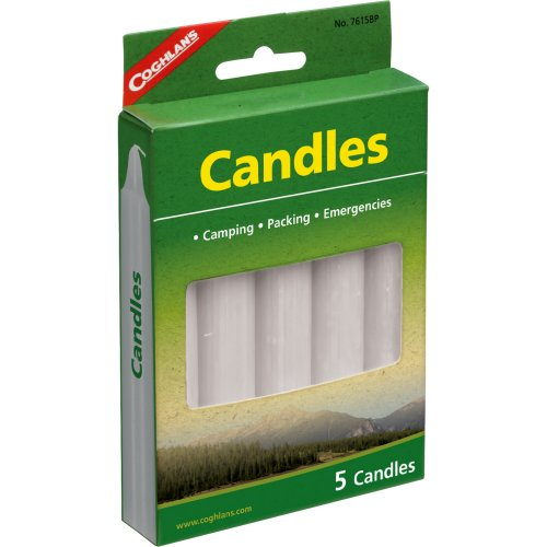 Coghlan's Camping Candles (Pack of 5) (Coghlan's 7615)