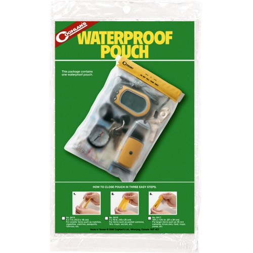 Coghlan's Waterproof Pouch Small (12 x 18 cm) (Coghlan's 8415)