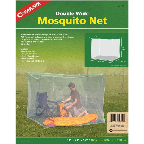Coghlan's Mosquito Net - Double (White) (Coghlan's 9760)