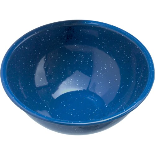 GSI Outdoors Enamelware Bowl (15 cm) - Blue (GSI Outdoors 12014)