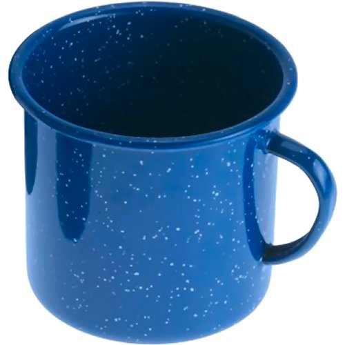 GSI Outdoors Enamelware Cup - Blue (112 ml) (GSI Outdoors 13206)