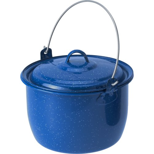 GSI Outdoors Enamelware Cooking Pot - Blue (2800 ml) (GSI Outdoors 18018)