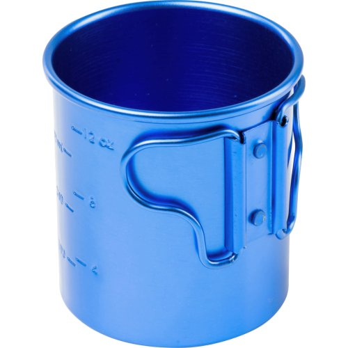 GSI Outdoors Bugaboo Folding Handle Cup - 414 ml (Blue) (GSI Outdoors 43212)