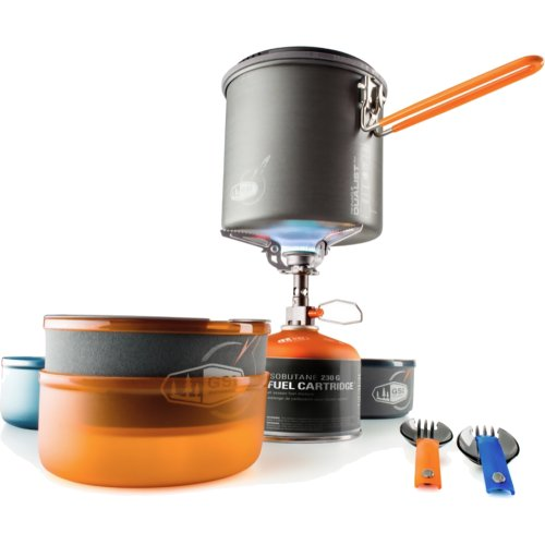 GSI Outdoors Pinnacle Dualist Complete Cookset and Stove (GSI Outdoors 50150)