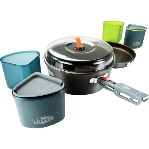 GSI Outdoors Gourmet Backpacking Pinnacle Backpacker Cookset (GSI Outdoors 50180)