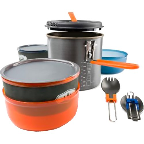 GSI Outdoors Pinnacle Dualist II Backpacking Cookset (GSI Outdoors 50248)