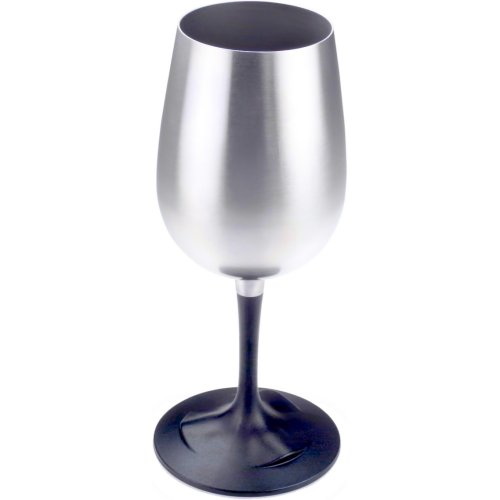 GSI Outdoors Glacier Stainless Steel Nesting Wine Glass (GSI Outdoors 63305)