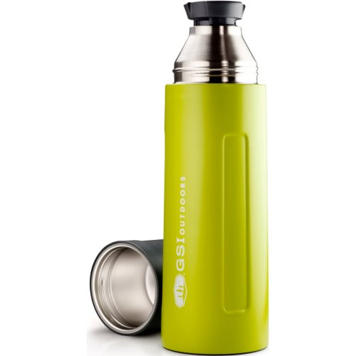 GSI Outdoors Glacier Stainless Vacuum Bottle - Green (1000 ml) (GSI Outdoors 67463)