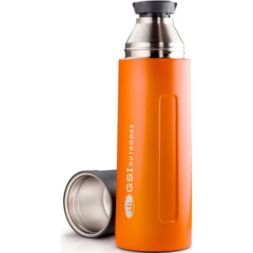 GSI Outdoors Glacier Stainless Vacuum Bottle - Orange (1000 ml) (GSI Outdoors 67467)