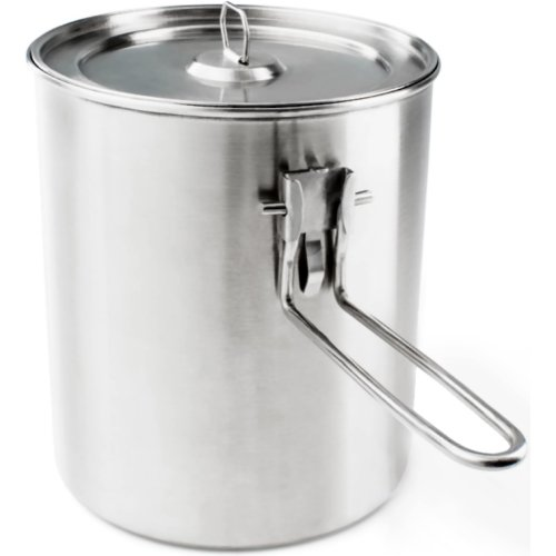 GSI Outdoors Glacier Stainless Boiler Pot (1100 ml) (GSI Outdoors 68190)