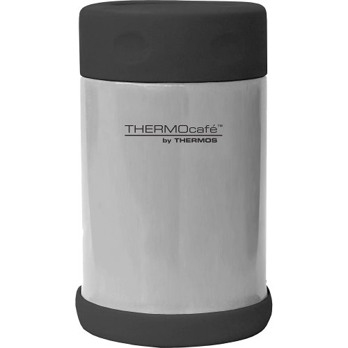 Thermos Thermocafe Stainless Steel Vacuum Insulated Food Flask - 400 ml (Thermos 080966)