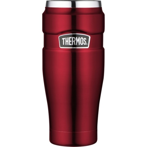Thermos Stainless Steel King Travel Tumbler - Red (470 ml) (Thermos 101535)