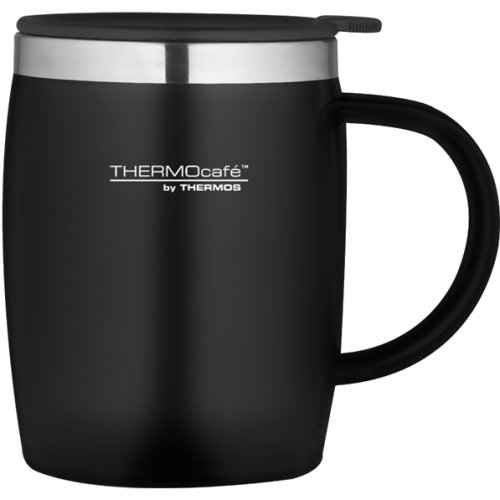 Thermos Thermocafe Soft Touch Desk Mug - Black (450 ml) (Thermos 105102)