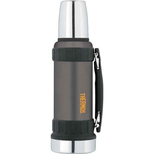Thermos Work Series Flask - Matt Black (1200 ml) (Thermos 170000)