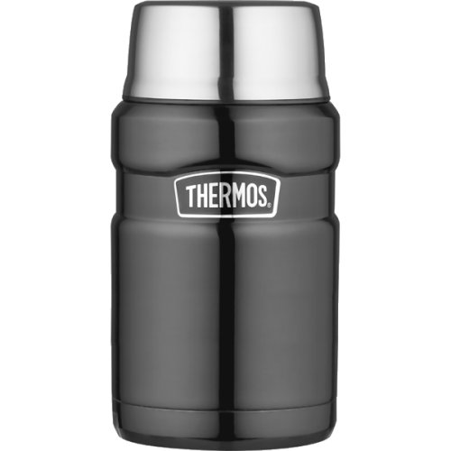 Thermos Stainless Steel Food Flask - Gun Metal (710 ml) (Thermos 170033)