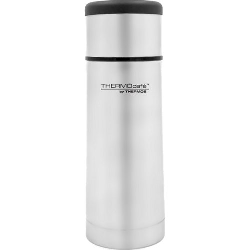 Thermos Thermocafe Flat Top Stainless Steel Flask - 350 ml (Thermos 170647)